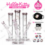 Bundle Hello Kitty Straight Tube Bong